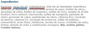 ingredientes_complemento alimentar infantil